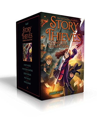 Story Thieves Complete Collection: Story Thieves; The Stolen Chapters; Secret Origins; Pick the Plot; Worlds Apart