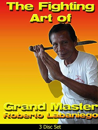 3 DVD SET Filipino Fighting Art Roberto Labaniego Mang Bert escrima kali arnis by