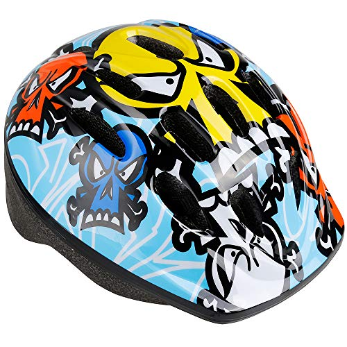 (Zacro Bike Helmet for Kids - CPSC Certified Kids Bike Helmet with Size Adjustable from Toddler to Youth, Durable Children Bicycle Helmets for Safety and Comfort, 47-59cm)