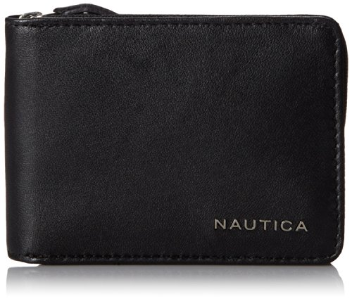 Nautica Mens Leather Slim Wallet product image