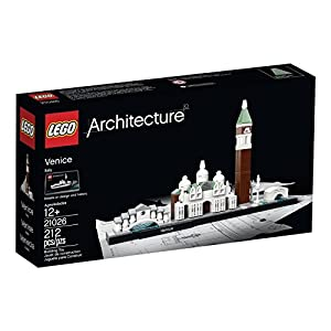 Realistic Venice Brick Model Building Set, 212 Piece - 51HSRojAMAL - 212 Pieces, Skyline Building Set