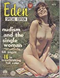 img - for Eden Quarterly (Special Edition) (nudist magazine), no. 20 (Spring Issue): Nudism & the Single Woman; What Can the Lost Sex Find in Naturism?; Is the Demure Woman Going out of Style?; What Is a Girl? book / textbook / text book