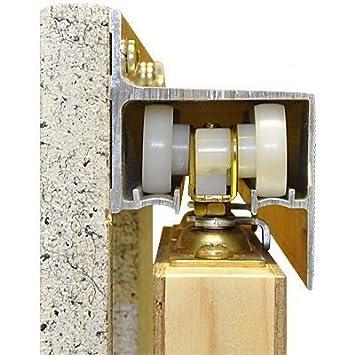 2610 Wall Mount Barn Door Type Sliding Door Hardware 60