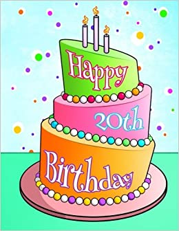 Happy 20th Birthday Discreet Internet Website Password Organizer