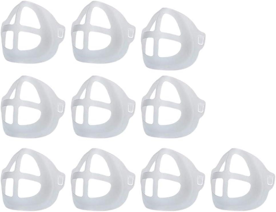 Interne Support Cadres en Silicone Maaayun Supports de m/αsq/υe Protection pour Une Utilisation Confortable et Un Espace de Respiration