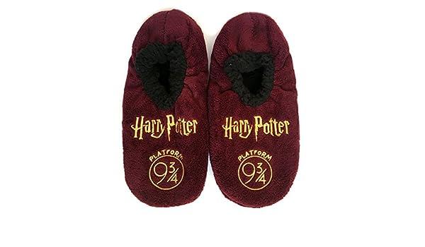 H.Potter - Zapatillas de estar por casa de 100% Poliéster para hombre multicolor multicolor Small: Amazon.es: Ropa y accesorios