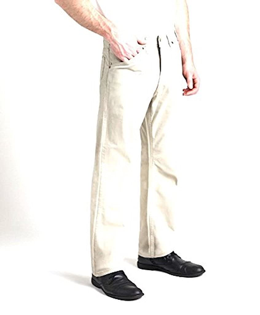 Grand River Lightweight Stretch Traditional Fit Jeans by 283 46x30 Stone