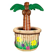 Beistle 50082 Inflatable Palm Tree Cooler, 18 by 28-Inch