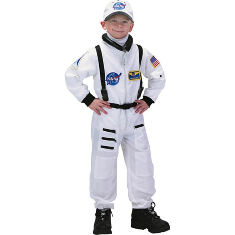 JR. Astronauta Traje Blanco Niños Disfraz: Amazon.es: Ropa y ...