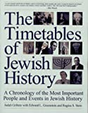 The Timetables of Jewish History, Judah Gribetz and Edward Greenstein, 0671885774