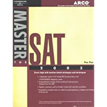 Master the SAT, 2003/e w/out CD-ROM