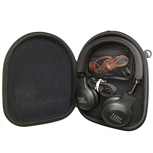 Protective Case for JBL E45BT, E65BT On-Ear OE Wireless Headphones. Also Fits Many Other Headphone On Ear OE and Around Ear AE Brands and Models.
