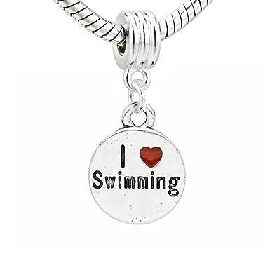 charms pandora nuoto
