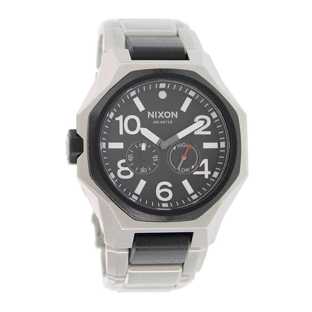 Nixon Men's Analogue Quartz Watch with Stainless Steel Strap A397000
