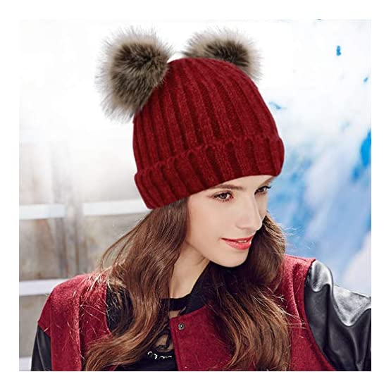 Pom Pom Ears | Artic Paw | Kawaii Beanie 6