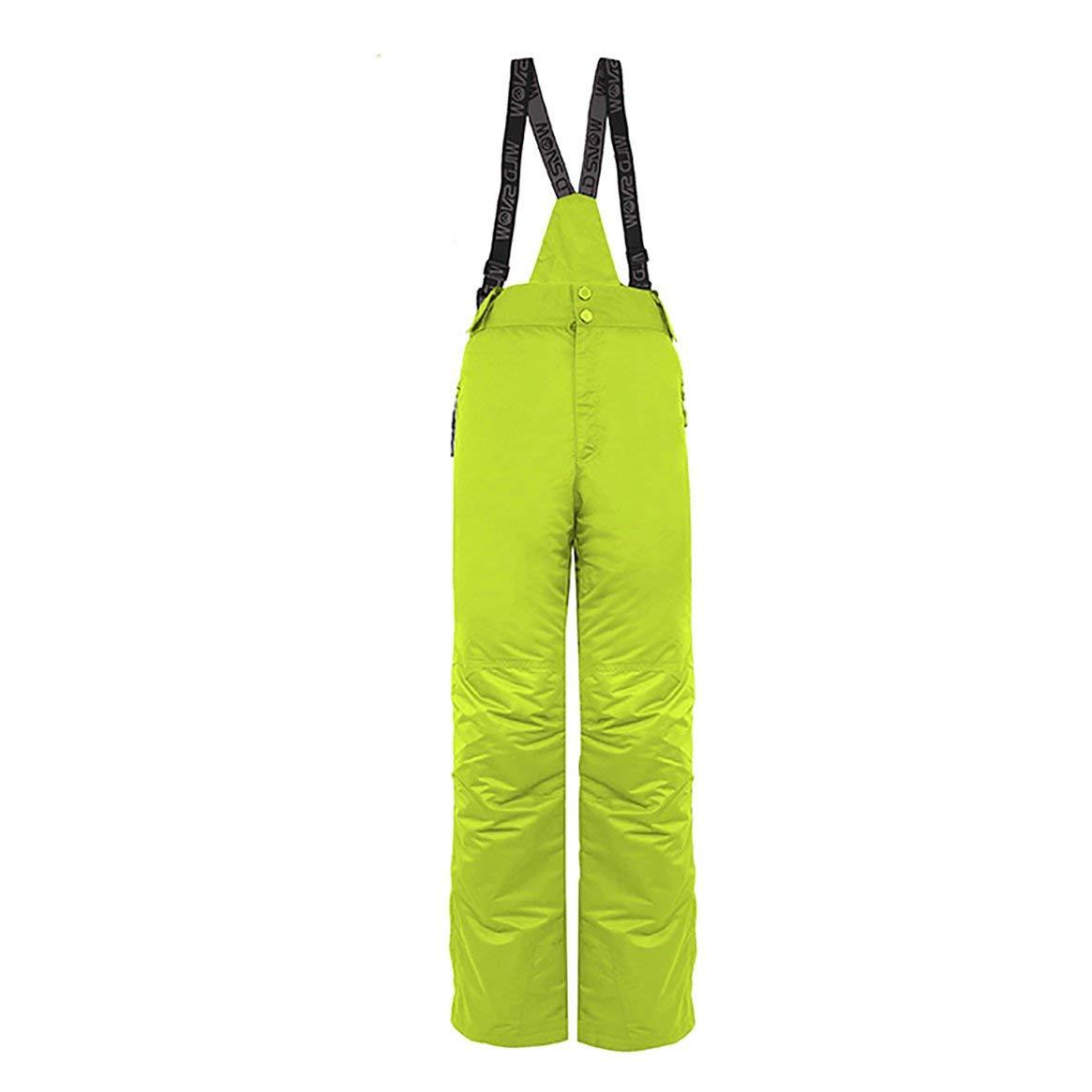 Delicacydex Männer Ski Anzüge Wasserdichte Ski Kletterhose Winter Outdoor Ski Snowboard Hosen Langlebige Schneehosen - Grün L