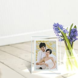 Gift garden 5 by 7 -Inch in Picture Frame Friends Gifts for 5x7 Photo Display, 2 Pack