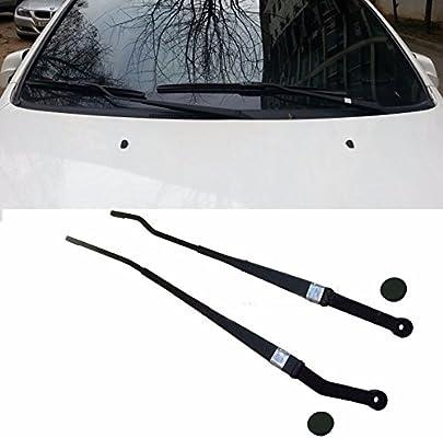 Parabrisas Limpiaparabrisas Brazo Cap Set, izquierda derecha 4P para Kia 2010 – 2015 Cadenza K7 OEM Partes. Atrás