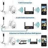3MP HD Outdoor Wireless Security Camera Pan Tilt