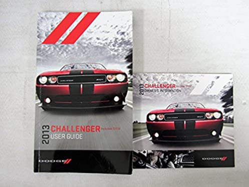 2013 dodge challenger owners manual guide book dodge amazon com books rh amazon com 2012 dodge challenger owners manual 2013 dodge challenger owner's manual