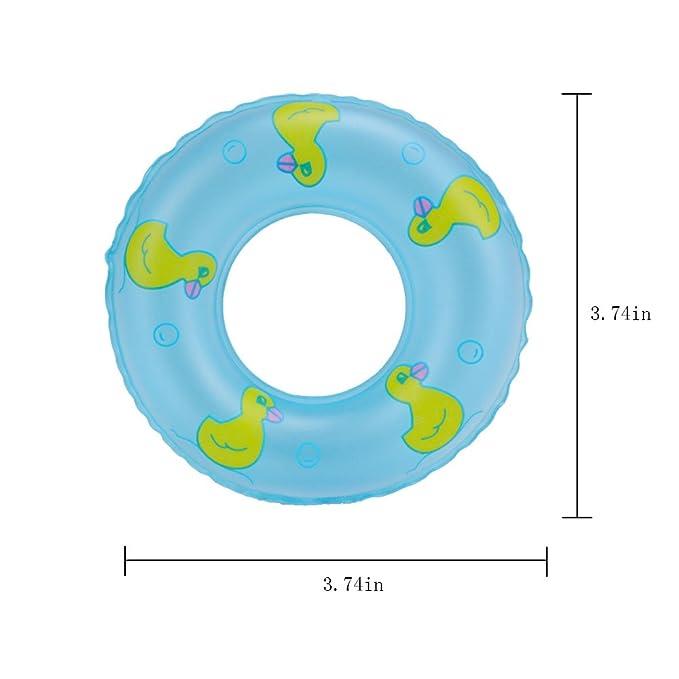 Amazon.com: E-TING Mini Swim Ring Summer Fun piscina Float ...