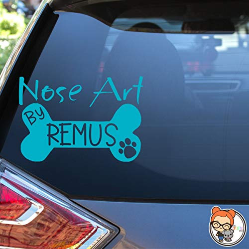 Nose Art By Personalized Custom Vinyl Decal Sticker