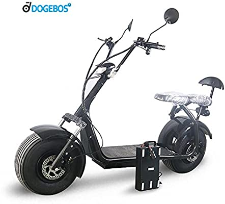ML-SC03 double seat two wheel electric scooter with front ...