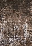 Kalora Antika Acid Wash Floor Cloth Rectangular Brown Area Rug 6'7'' x 9'10''
