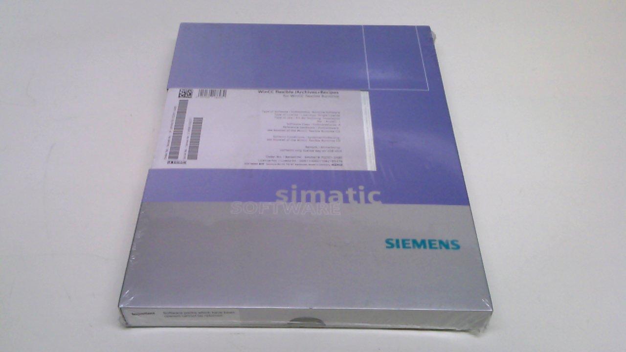 Siemens 6Av6618-7Gd01-3Ab0 Wincc Flexible Archives + Recipes 6Av6618
