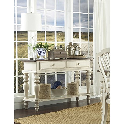 Hillsdale Pine Island Sideboard in Old White Review