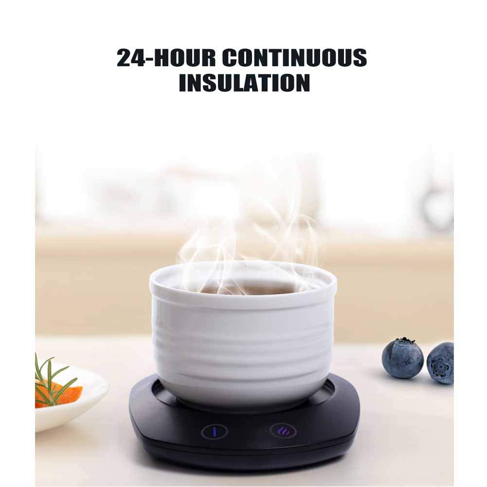 AIMCAE Beverage Warmer for Desk, Coffee Mug Warmer, with Three Temperature Settings, Energy Saving, Easy to Carry by AIMCAE