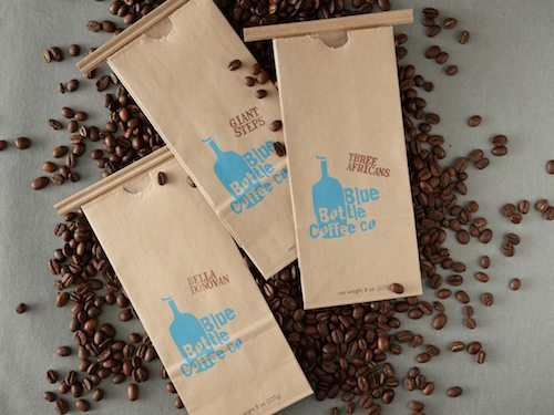 Blue Bottle Coffee USDA Fundamental Coffee Beans Three Africas Blend 12oz bag