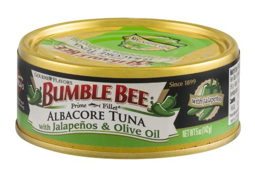 Bumble Bee Prime Fillet Albacore Tuna with Jalapenos & Olive Oil, 5 oz ()