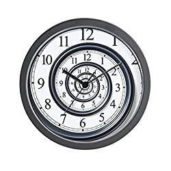 CafePress Spiral Unique Decorative 10 Wall Clock