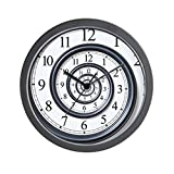 "CafePress - Spiral - Unique Decorative 10"" Wall Clock"