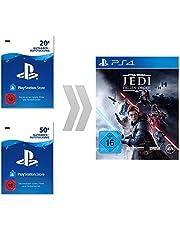 PSN Guthaben-Aufladung für Star Wars Jedi: Fallen Order   PS4 Download Code - deutsches Konto