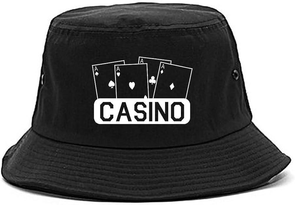 Casino Ace Cards Bucket Hat