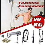 Avambraccio-Wrist-Roller-Trainer-Tricep-Workout-Machine-Wall-Mounted-Cable-Pulley-System-Con-Perno-Di-Caricamento-Per-LAT-Pull-Down-Tricep-And-Ab-Pulldowns-Biceps-Curl-Bicipite-Braccio-Polso-Avamb