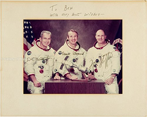 Apollo Soyuz Crew Inscribed Photograph Signed with co signers
