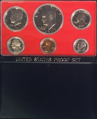1977 S US Mint Proof Set Original Government Packaging
