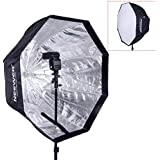 """Neewer 47""""/120cm Octagonal Speedlite, Studio Flash, Speedlight Umbrella Softbox with Carrying Bag for Portrait or Product Photography"""