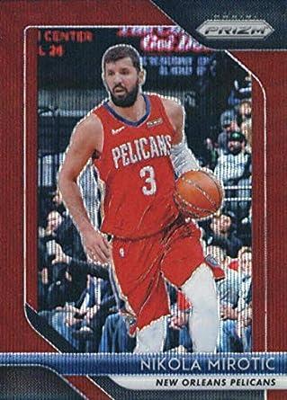 2018-19 Panini Prizm Basketball  157 Nikola Mirotic New Orleans Pelicans  Official NBA Trading ad5f1889c
