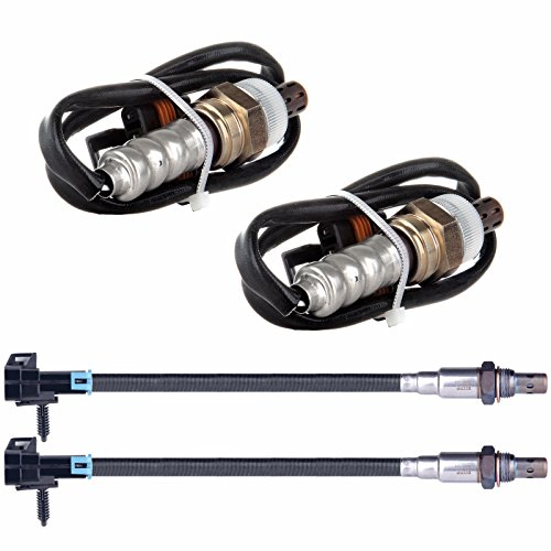 SCITOO SG272 SG280 4pcs O2 Upstream+Downstream Oxygen Sensor fit 1996-2002 Chevrolet Express 1500/2500/3500 K1500 Suburban G30 C1500/C2500/C3500 GMC Savana 1500/2500/3500 (Oxygen C1500 Sensor)