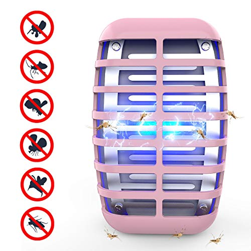 Greatico Bug Zapper - Mosquito Killer lamp Insect Trap -No Radiation-Insect Trap,Mosquito Trap Light for Indoor Bedroom, Kitchen, Office, Home