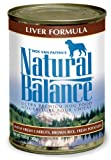 Natural Balance Canned Dog Food, Liver and Rice Recipe, Case of 12 Cans/13 Oz., My Pet Supplies