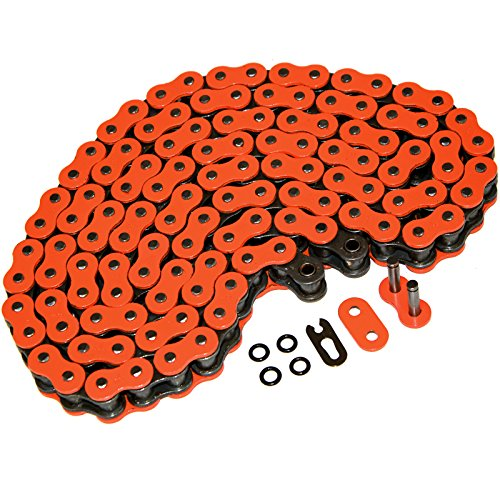 (Caltric O-RING Orange DRIVE CHAIN Fits APRILIA 450SXV 450 SXV 450-SXV 2006-2010)