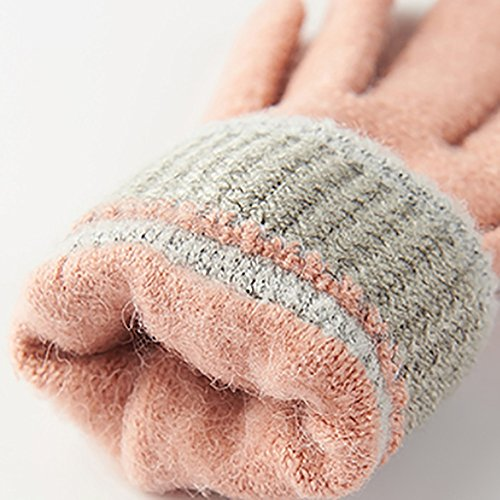 D Screen Thickening Students Leisure C Gloves Warm Woman available are Touch LJHA Color Gloves Work Gloves 5colors Winter Learning Fall 51wXx7UnqS