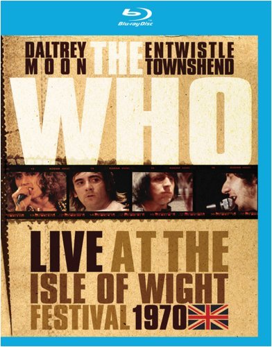 Blu-ray : The Who - The Who: Live at the Isle of Wight Festival 1970