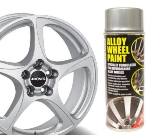 Auto Inpart Pintura metálica para llantas de aleación, antigrietas: Amazon.es: Coche y moto