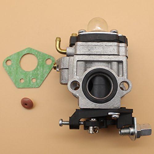 15mm para carburador para Mitsubishi TL43TL52TU43TU5240cc 43cc 49cc motor motor cortasetos cortador de matorrales mini-choppers ATV bicicleta